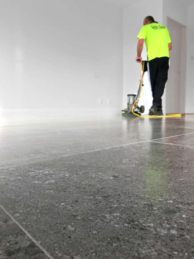 Cleaning, polishing and resurfacing for vinyl, tile and